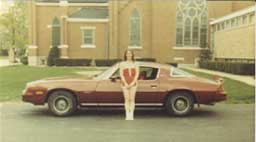 Our Camaro in 1979